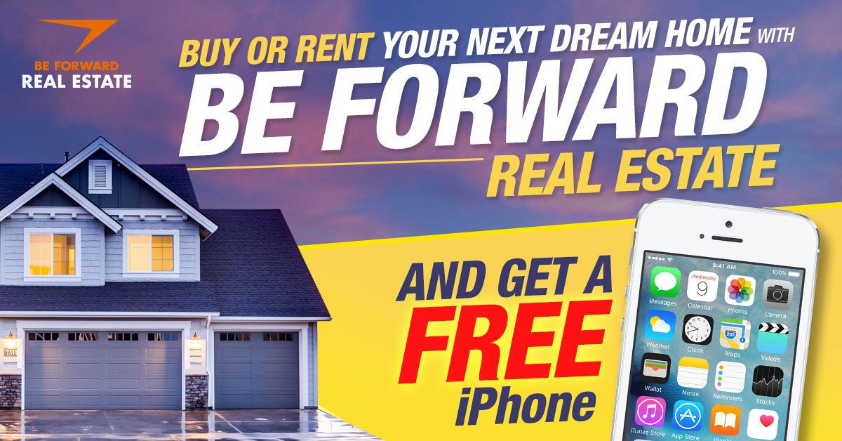 FREE iPhone From BE FORWARD Real Estate