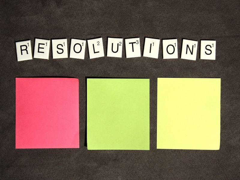 2019 resolutions for the home