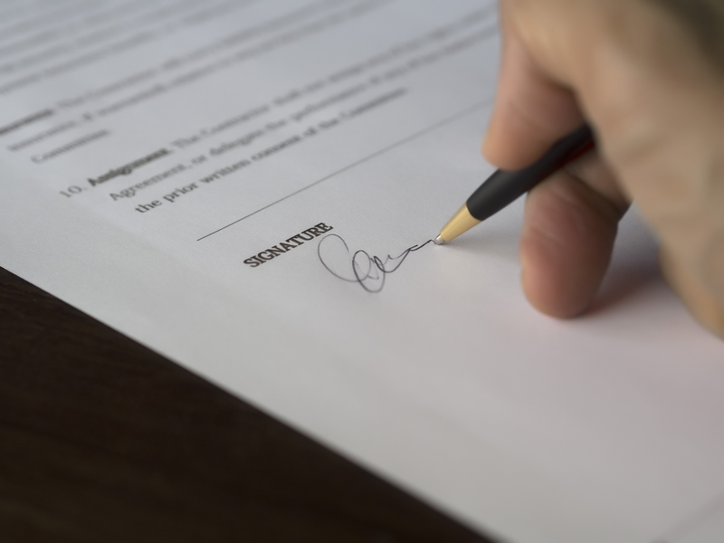 Importance of a written agreement with a contractor